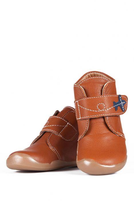 K131 Kifidis-Kids Çocuk Ayakkabısı 20-25 COGNAC-KAHVERENGİ TONU
