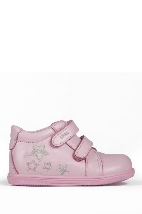 K151 Kifidis-Kids İlk Adım Çocuk Ayakkabısı 21-26 Pembe / Pink