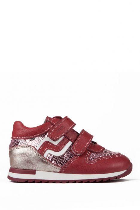 K161 Kifidis-Kids Çocuk Ayakkabısı 25-30 BORDO