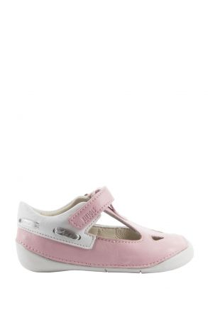 K410 Kifidis-Kids İlk Adım Çocuk Ayakkabısı 18-22 Pembe / Pink