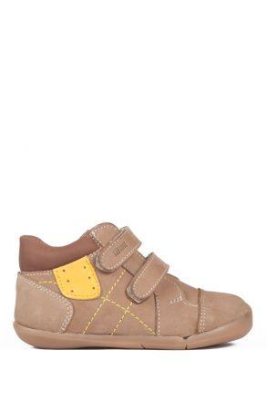 K531 Kifidis-Kids İlk Adım Çocuk Ayakkabısı 19-24 Kum Nubuk