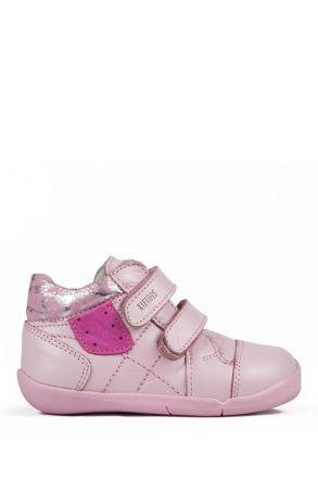 K531 Kifidis-Kids İlk Adım Çocuk Ayakkabısı 19-24 Pembe / Pink
