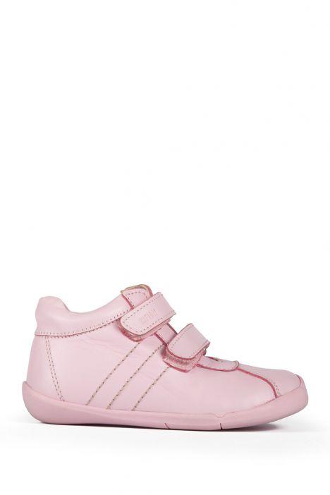 K821 Kifidis-Kids İlk Adım Çocuk Ayakkabısı 19-25 Pembe / Pink