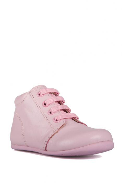 K90 Kifidis-Kids İlk Adım Çocuk Ayakkabısı 19-24 Pembe / Pink