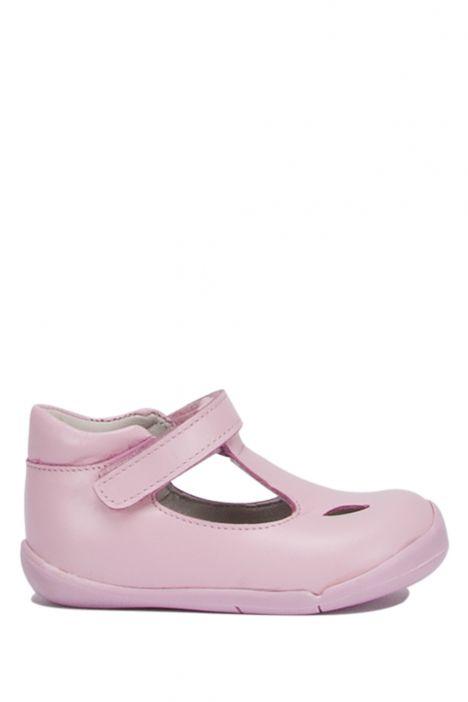 KP53 Kifidis İlk Adım Çocuk Ayakkabısı 19-23 Pembe Deri