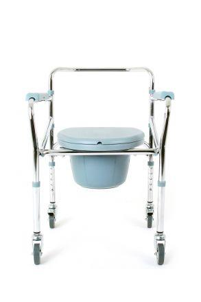 KY696 Kifidis Tekerlekli Tuvaletli Banyo Sandalyesi