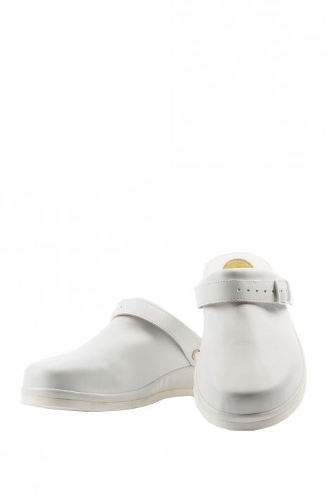 Kifidis Clog1 Silikon Destekli Erkek Sabo Beyaz / White