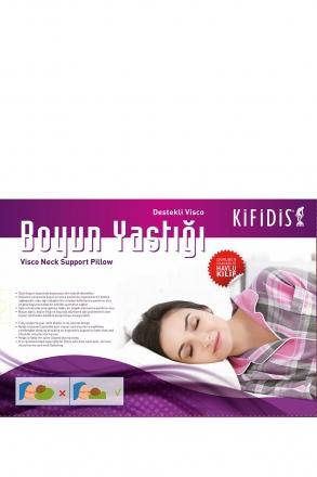 Kifidis Kademeli Visko Yastık 54x36x12 cm / Havlu Kumaş Kılıf