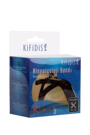 Kifidis Kintape-2 Plus Kinesio Bandı 5cmx5m