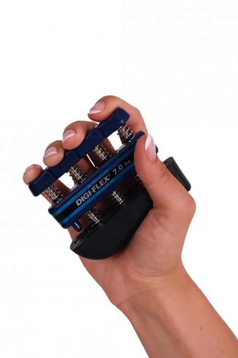 MVS El ve Parmak İdman Yayı (Digi-Flex) DF700 Mavi