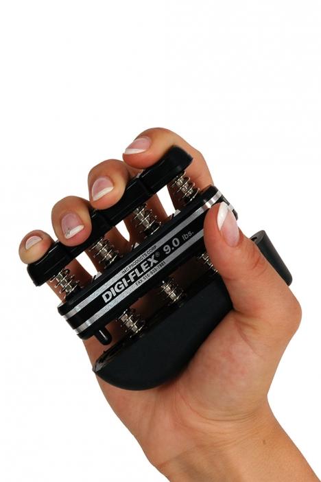 MVS El ve Parmak İdman Yayı (Digi-Flex) DF900 Siyah
