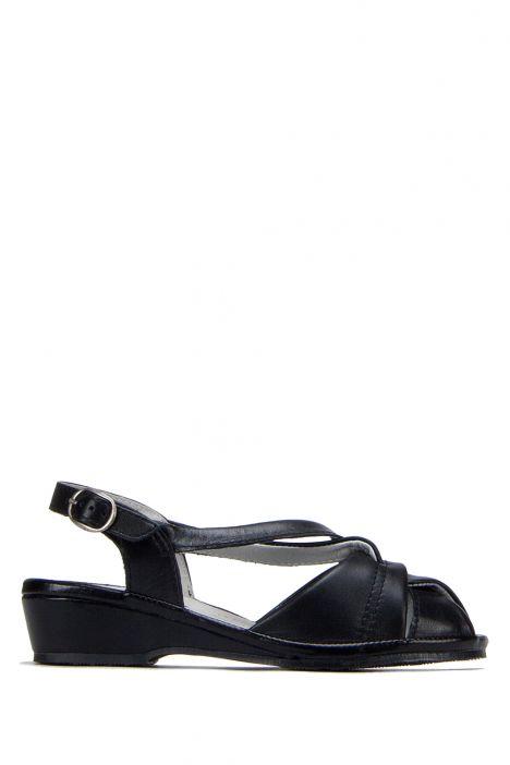 Mate Ac-Kifidis Kadın Sandalet 35-42 Siyah / Black - 2738