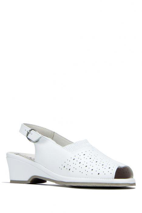 Mate Ac-Kifidis Kadın Sandalet 35-42 Beyaz / White