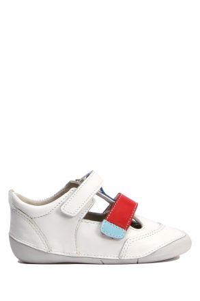 PS38 Kifidis-Kids Unisex Deri Bebek Ayakkabısı 18-22