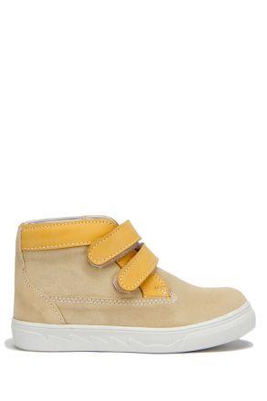RK10 Kifidis Erkek Çocuk Ayakkabı 24-30 Sarı Süet / Yellow Suede