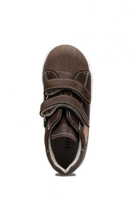RK30 Kifidis Erkek Çocuk Ayakkabısı 24-30 Haki Bas. Deri