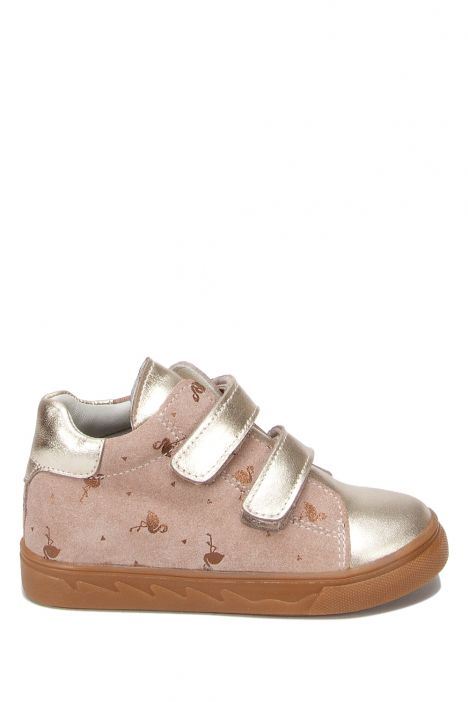 RK30 Kifidis Kız Çocuk Ayakkabısı 25-30 Dore Deri