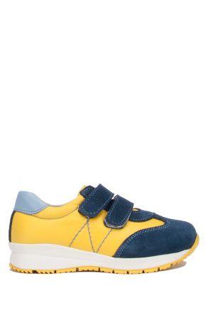 RP81 Kifidis Paplus Çocuk Spor Ayakkabı 21-30 Kot Süet