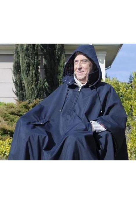 RainCoat Rüzgar ve Sıvı Geçirmez Tekerlekli Sandalye Yağmurluğu STD