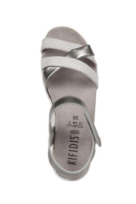 Rosa 04 Ac-Kifidis Kadın Sandalet 35-41 White Crack