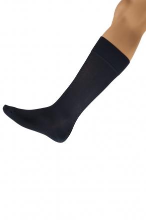 Skywalk Light Gümüş İyonlu Dize Kadar Dinlendirici Çorap Antrasit / Anthracite