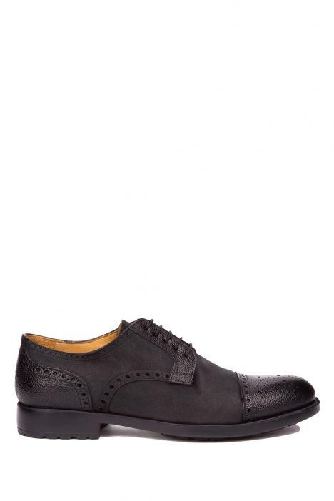 U81122 Kifidis Melluso Erkek Ayakkabı 39-46 Siyah / Nero