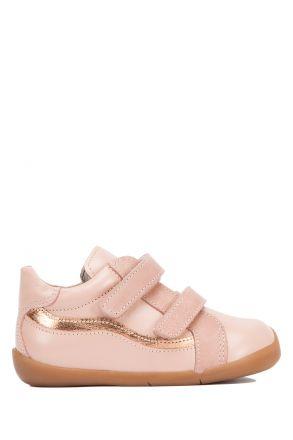 VK48 Kifidis-Kids İlk Adım Kız Çocuk Deri Ayakkabı 18-24