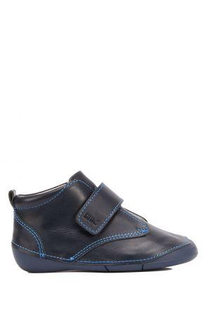 VK584349 Kifidis-Kids Erkek Bebek Deri Ayakkabı 18-22