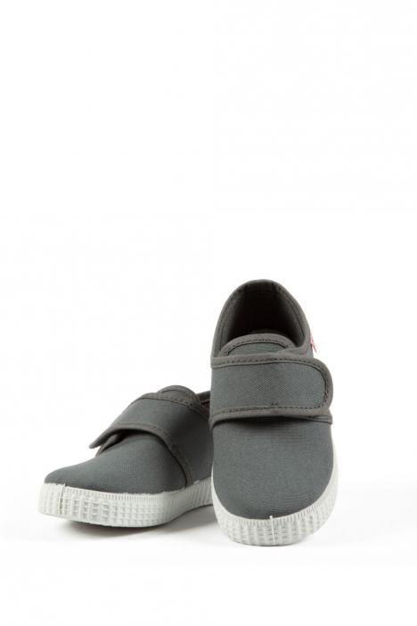 58000 Kifidis Cienta Çocuk Keten Ayakkabı 21-24 GRIS