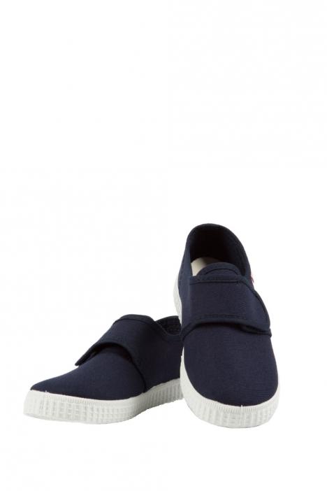 58000 Kifidis Cienta Çocuk Keten Ayakkabı 21-24 Mavi / Blue