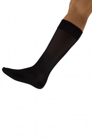 Skywalk Unisex Uçuş Çorabı Siyah / Nero
