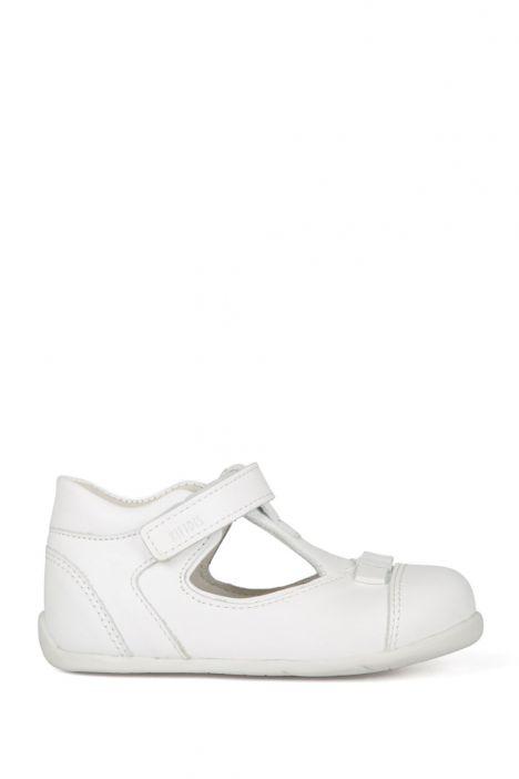 K89 Kifidis-Kids İlk Adım Ayakkabısı 19-24 Beyaz / White