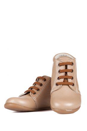 K90 Kifidis-Kids İlk Adım Ayakkabısı 19-24 Krem / Cream